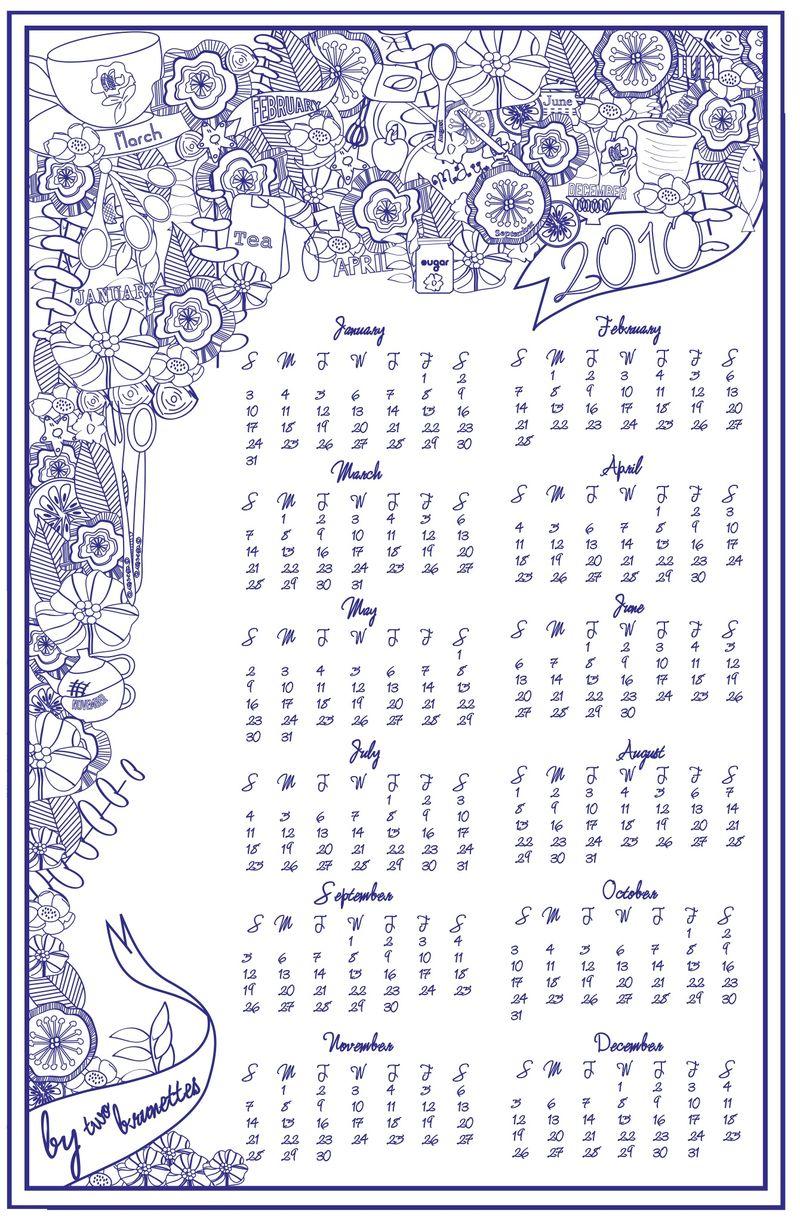 Two-Brunettes-2010-Calendar